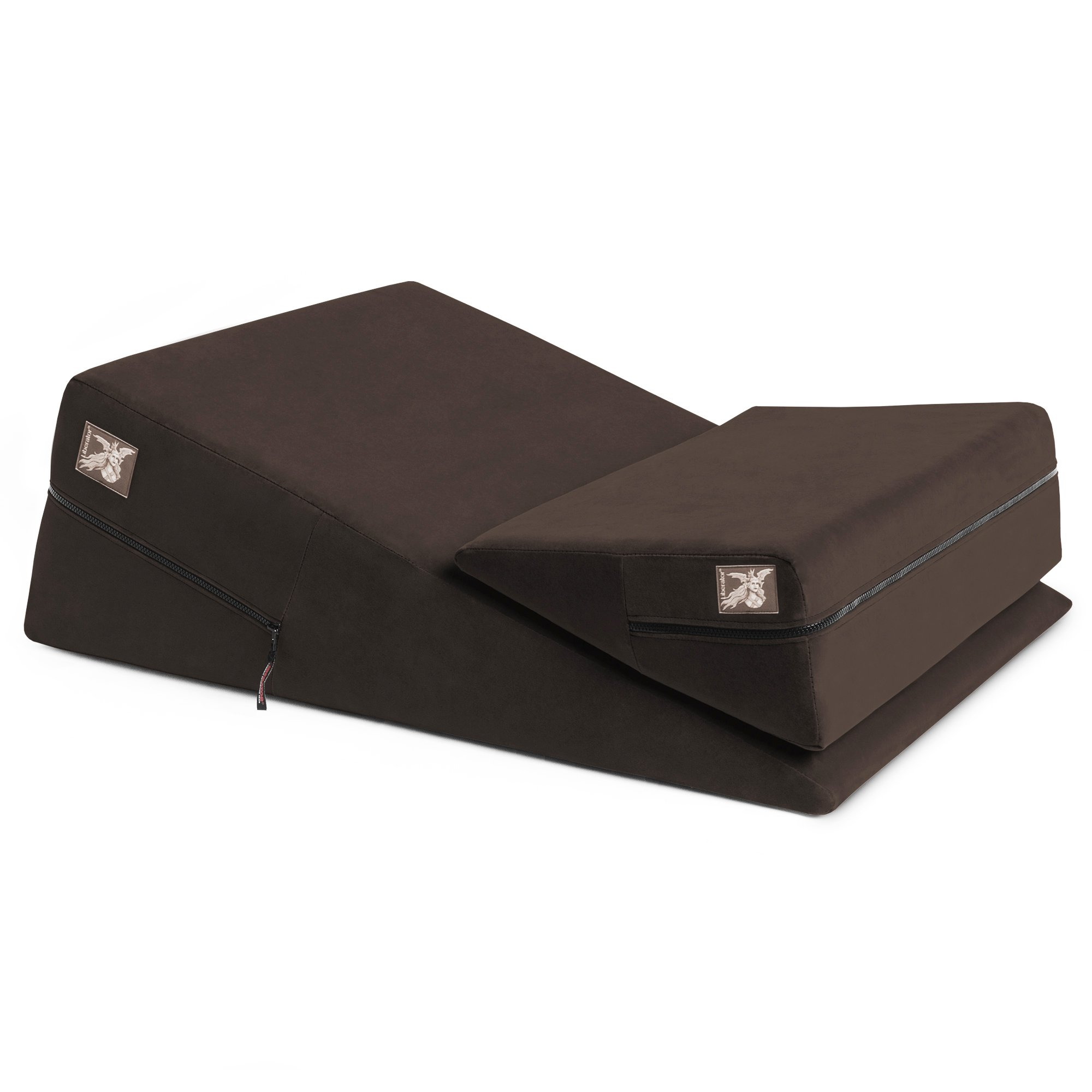 Liberator Wedge/Ramp Combo, Original, Chocolate Microfiber