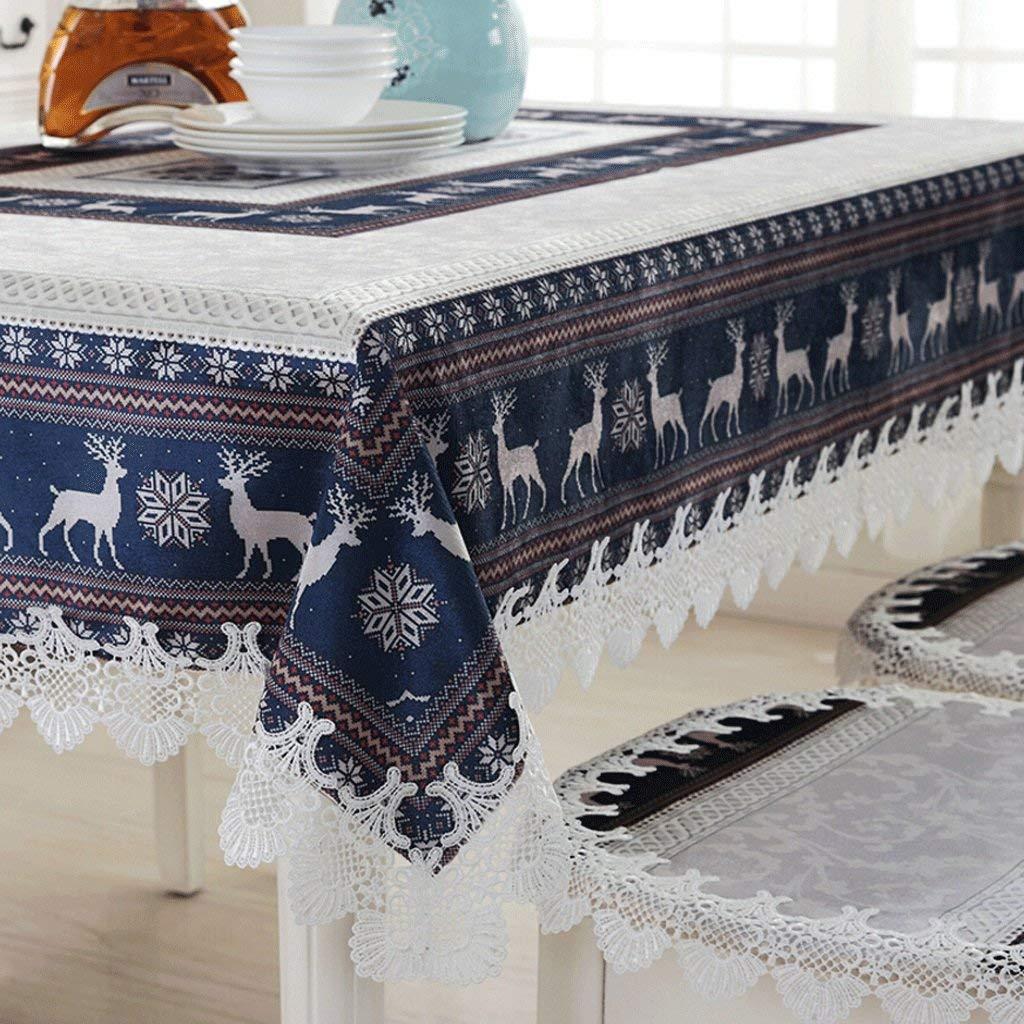 Hanpiaotech ヨーロッパ風テーブルクロス北欧スタイルテーブルクロスコーヒーテーブルカバークロス (サイズ : 150*210cm) 150*210cm  B07SCX3XDT