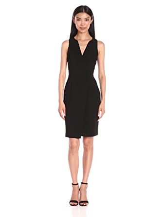 ec645f9cfc9 Amazon.com  BCBGeneration Women s Surplice Dress  Clothing