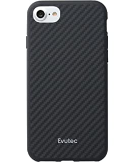 hot sale online 4ea91 6c3bf Amazon.com: Evutec Cell Phone Case for Apple iPhone 7 - Black: Cell ...