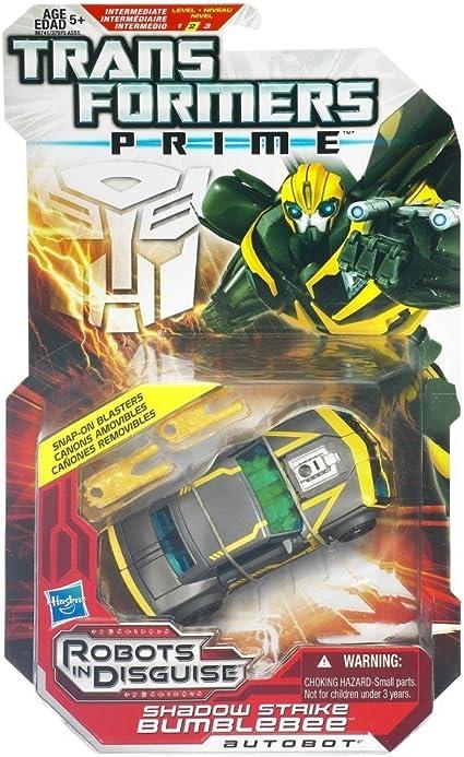 Transformers Prime Deluxe Shadow Strike Bumblebee: Amazon.es ...