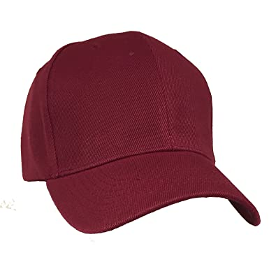 unisex panel plain baseball cap with closure back hat deep high crown caps hats