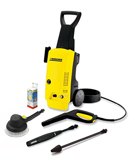 KÄRCHER K4 99M Pressure Washer with a 1900W Motor and 120 Bar Pressure