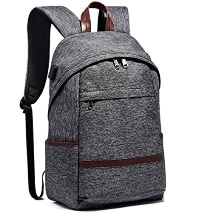 f69d4bca651f Amazon.com: FWJ Laptop Backpack with USB Charging Port, Anti-Theft ...