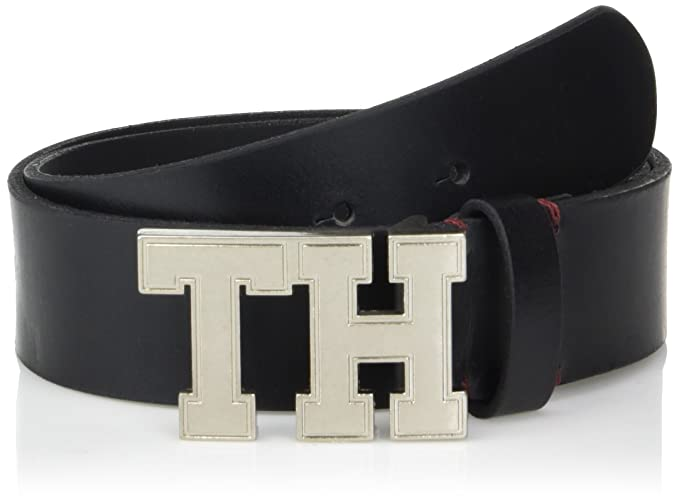 3e8d6b786b Tommy Hilfiger Men s 1 1 2-Inch Leather Casual Belt  Amazon.ca ...