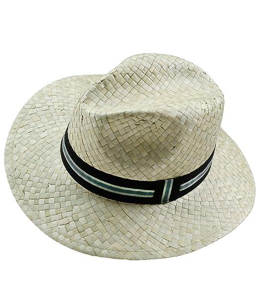 EveryHead Fiebig Sombrero De Paja Los Hombres Verano Playa Vacaciones  Equinácea Gorro Fiesta Unisex Con Banda 9397085e7c4