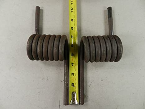 (1) Pair of Trailer Heavy Duty coil Springs 2,000 lb - Left & Right, Ramp,  Gate
