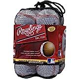 Rawlings OLB3BAG12 Official League Recreational Use Baseballs, Bag of 12