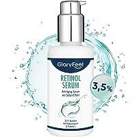 Retinol Serum High dosed (3,5%) - 100 ml trippelvårdskomplex med C-vitamin och hyaluronsyra - anti-aging för ansikte och…