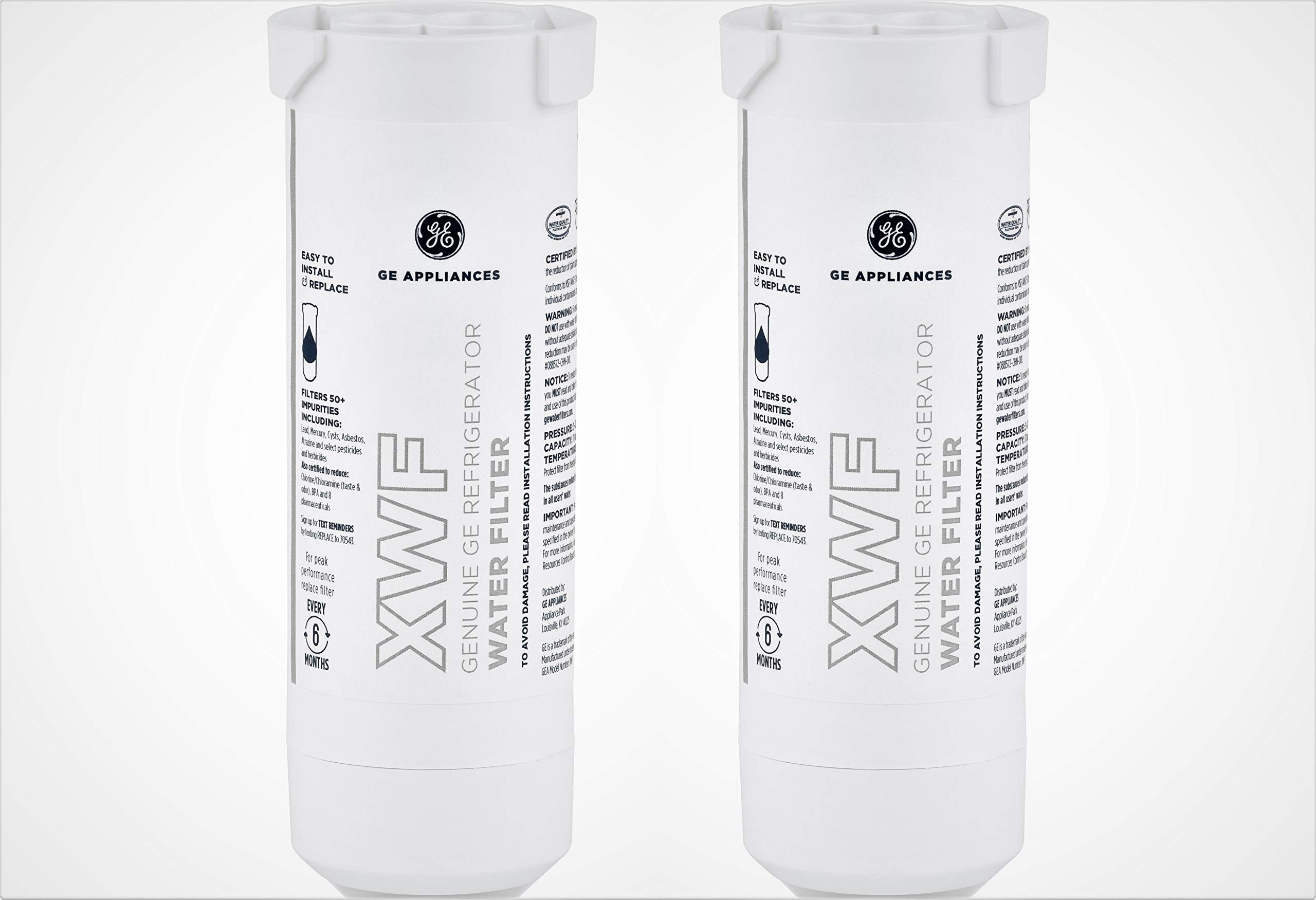 GE XWF Refrigerator Water Filter (2-Pack) by GE