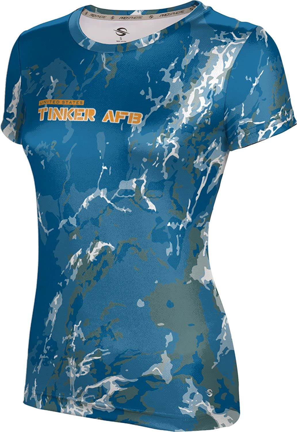 ProSphere Women's Tinker AFB Military Marble Tech Tee
