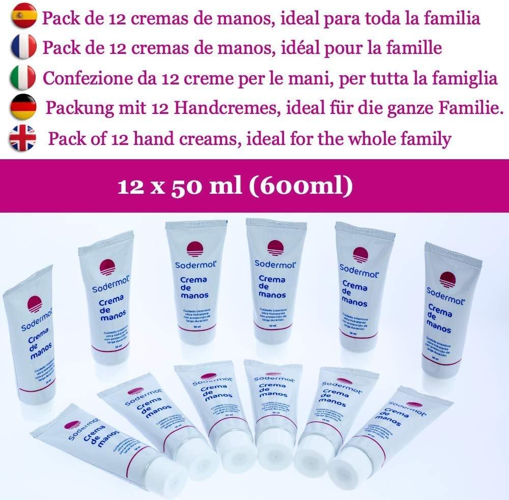 Crema de manos reparadora hidratante pack 12 cremas hidratación ...