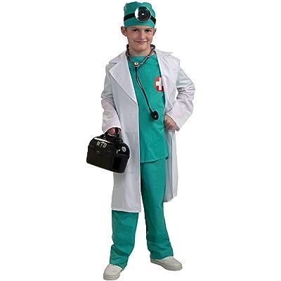 Forum Novelties Chief Surgeon Doctor Child Costume, Large