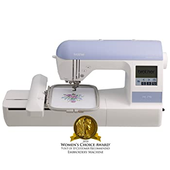 Brother PE770 Embroidery Machine with Built-in Memory