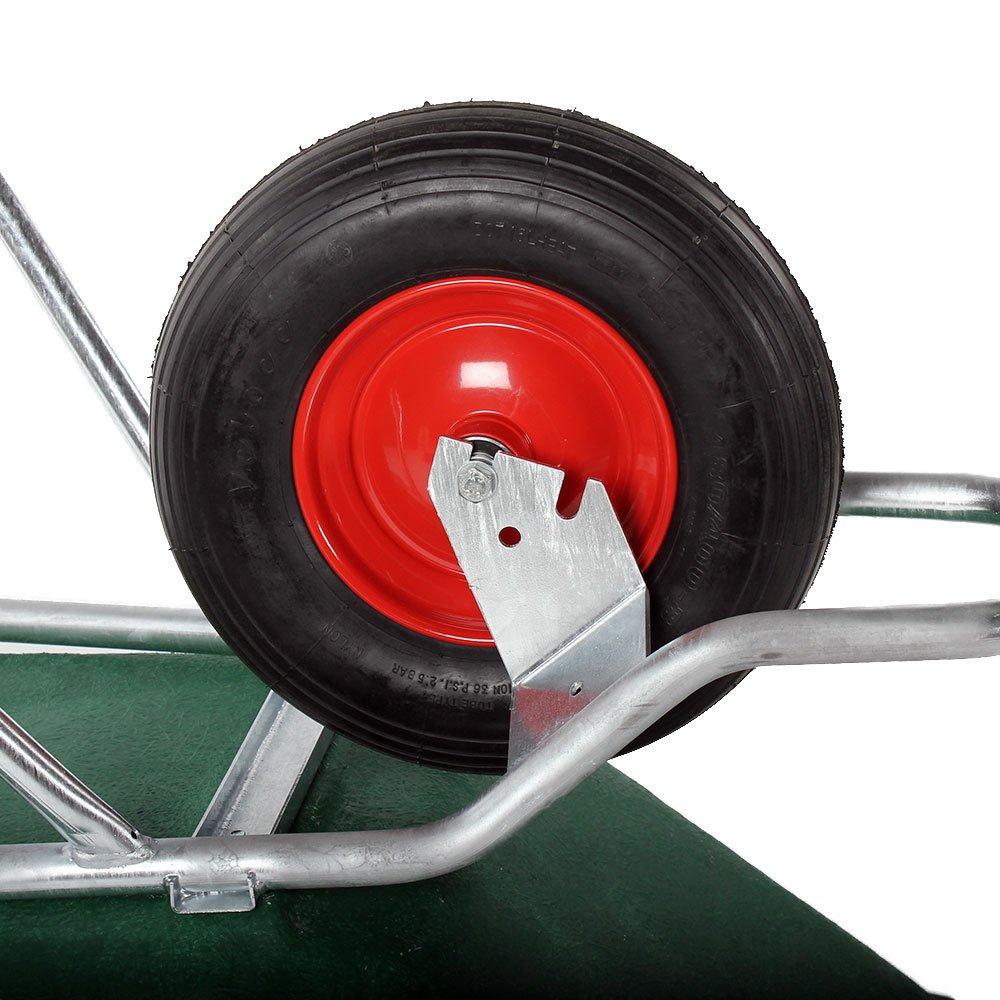 albena shop 61 - 100 - 01 Profesional 1 rueda de carretilla (160 L: Amazon.es: Jardín