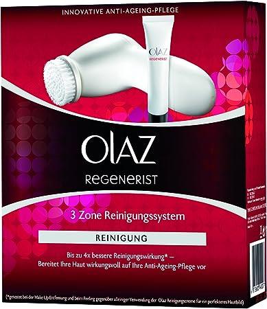 """Olaz Regenerist """"3 Zona"""" cara cepillo de limpieza con 2 etapas rotativas"""