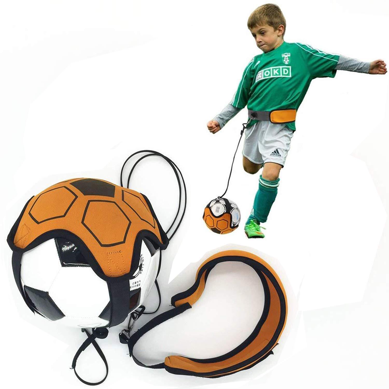 Huike Solo - Cintura da Calcio Regolabile, per Principianti, per allenare Calcio, Calcio, Allenamento