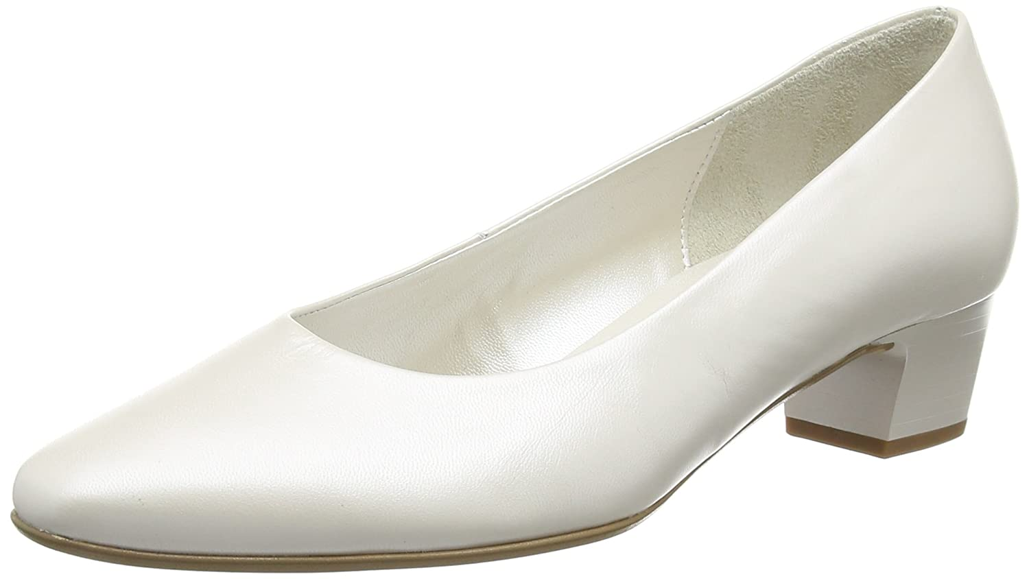 GaborCompany - Zapatos de Tacón Mujer 39 EU|Blanco (Off White Pearlised Leather)