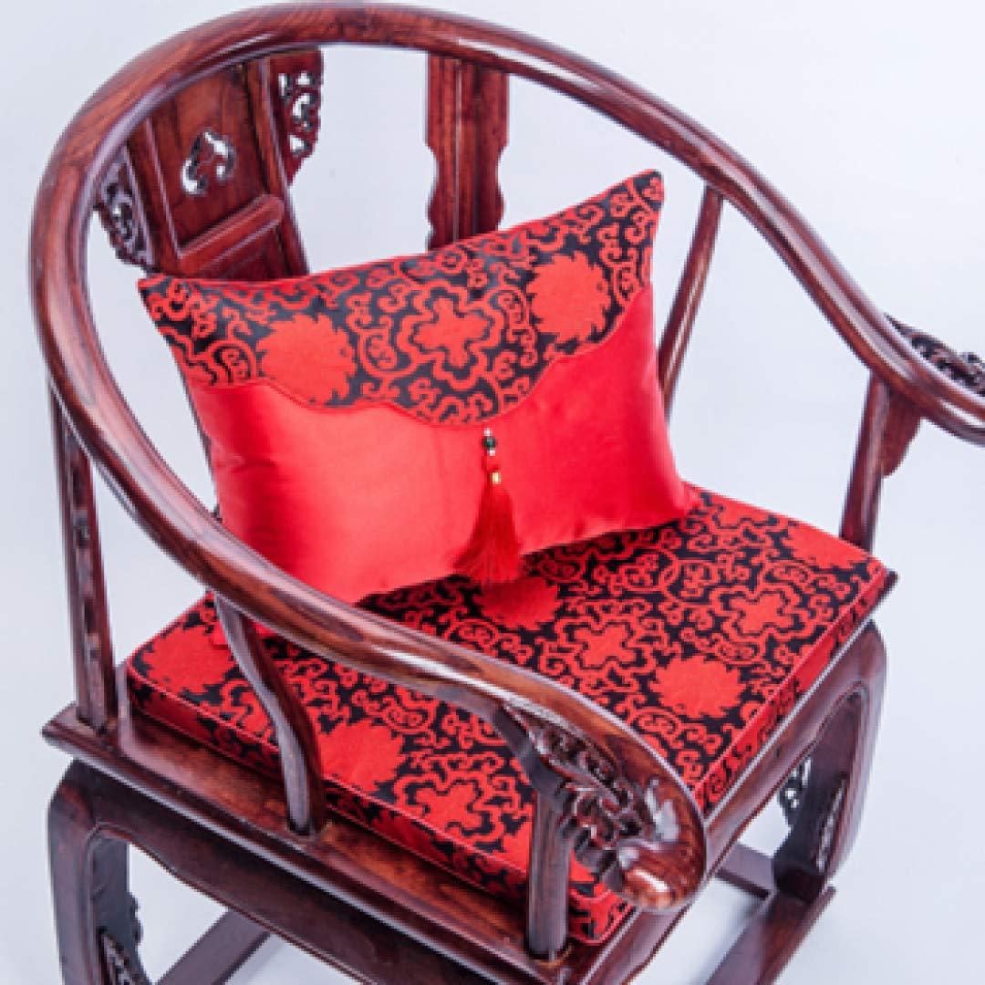 Amazon.com: Cojín lumbar para silla, diseño oriental ...