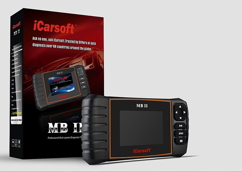 iCarsoft MB II MB2 MB-II OBD2 Diagnoseger/ät Diagnose Fehler lesen und l/öschen /Öl Service R/ückstellung SBC R/ückstellung DPF Reset