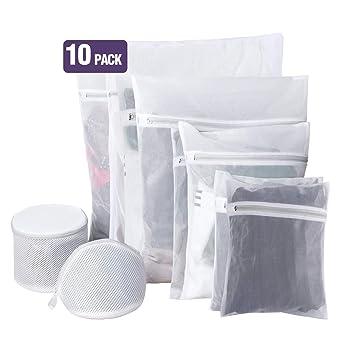 Bolsas de lavandería para lavadora, bolsa de ropa de malla ...