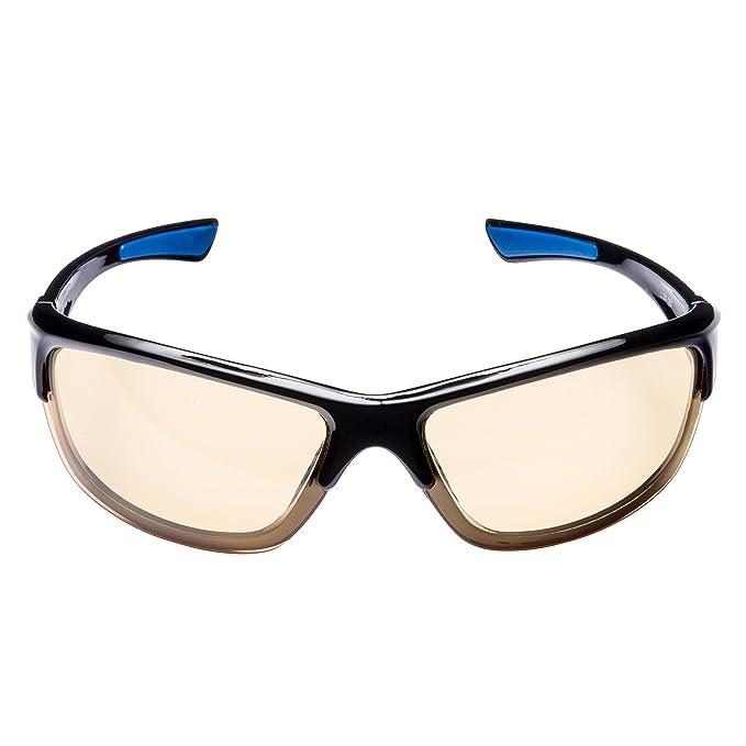 Lumin - Gafas de conducción nocturna VECTOR – Para lluvia, niebla y conducción nocturna – Seguridad en carretera – Protección UVA y UVB – Reduce la ...