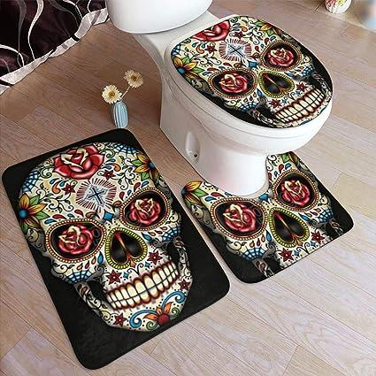 acheter tapis de bain tete de mort online 9