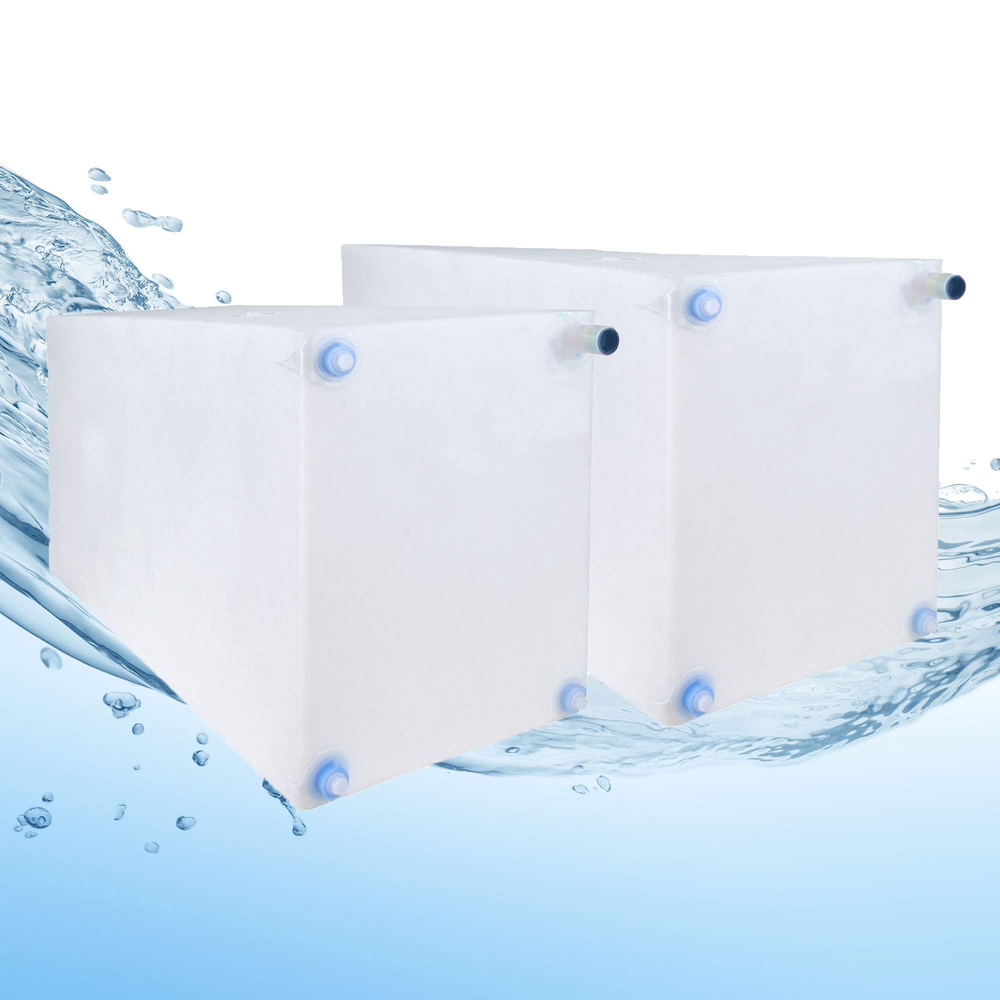 RecPro Fresh and Gray Water Holding Tank | Combo Pack | Concession/Food Truck Holding Tank (30 & 42 Gallon)