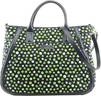 223fc4c37c64 Amazon.com  Vera Bradley Trapeze Tote in Lucky Dots  Clothing