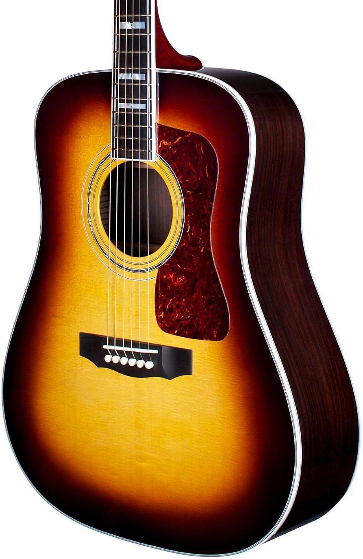 Amazon com: Guild D-55 - Antique Burst: Musical Instruments