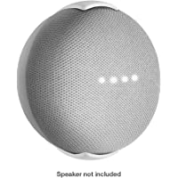 Wall Mount Stand for Google Home Mini Speaker by Monster in White