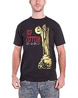 Led Zeppelin T Shirt Stairway to heaven Hermit Oficial de los hombres nuevo