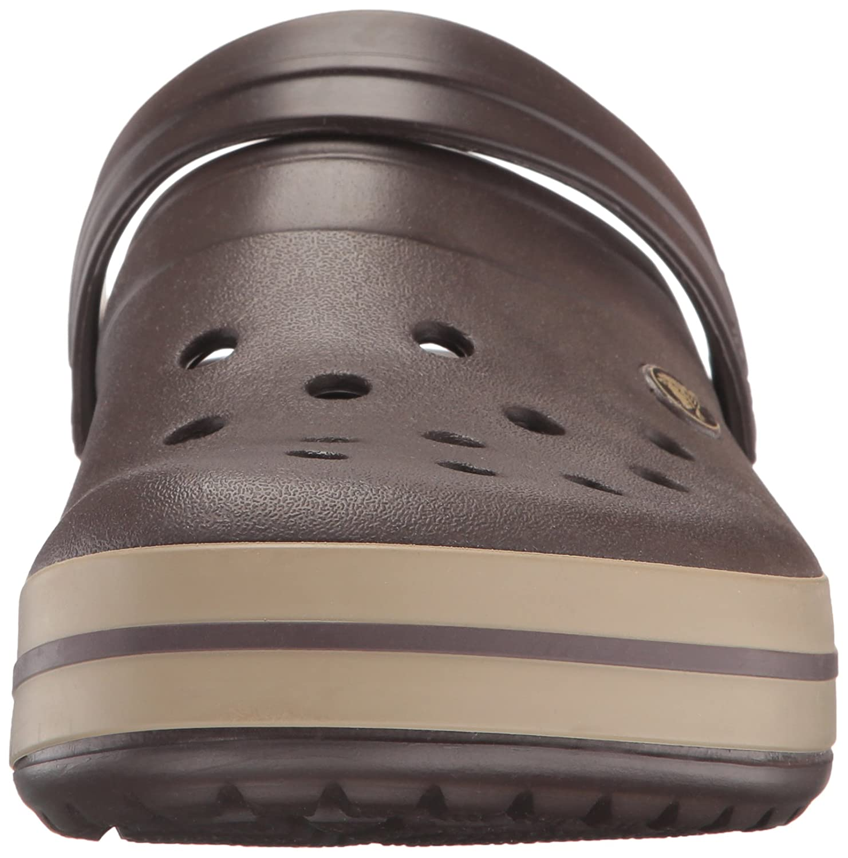 Crocs Unisex Crocband Clog B07DY7WQ3L 42-43 M US EU / 11 B(M) US M Women / 9 D(M) US Men|Espresso/Khaki 1dc56b