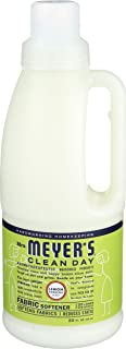 product image for Mrs. Meyer's Clean Day Liquid Fabric Softener, Made Without Parabens, Cruelty Free Formula, Lemon Verbena Scent, 32 oz