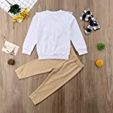 3Pcs Kid Baby Girl Cotton Outfit Clothes Ruffle