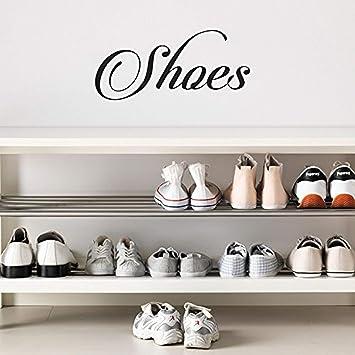Amazon.com: Cartel de letras cursivas para zapatos, para ...