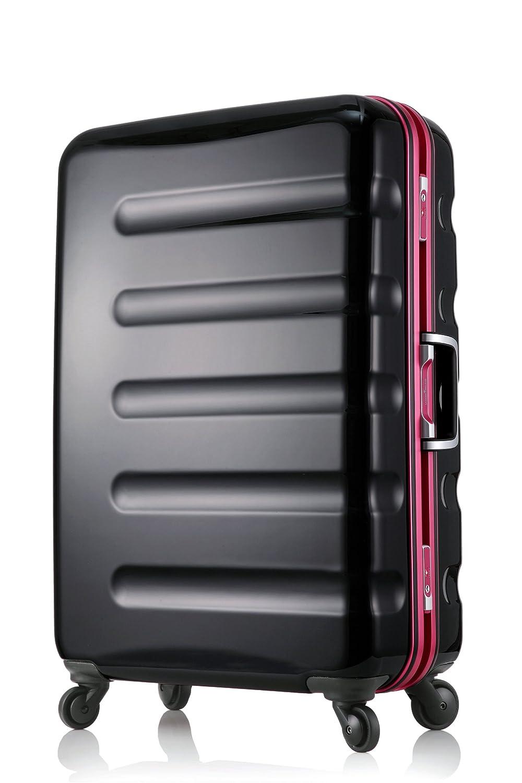 【レジェンドウォーカー】LEGEND WALKER スーツケース アルミフレーム 鏡面ボディ TSAロック 軽量 機内持込~大型 B01LYTKM9N MLサイズ-66cm(5~1週間)|ブラックピンク ブラックピンク MLサイズ-66cm(5~1週間)