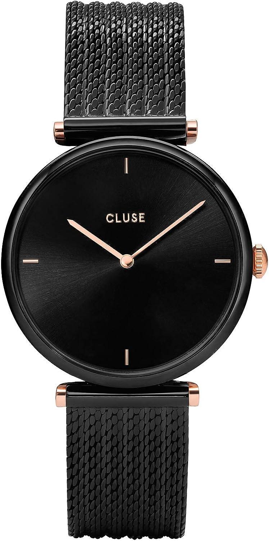 CLUSE Reloj para Mujer de Cuarzo con Correa en Acero Inoxidable CW0101208004