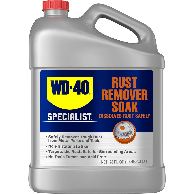 WD-40 - 300042 Specialist Rust Remover Soak, One Gallon [4-Pack]