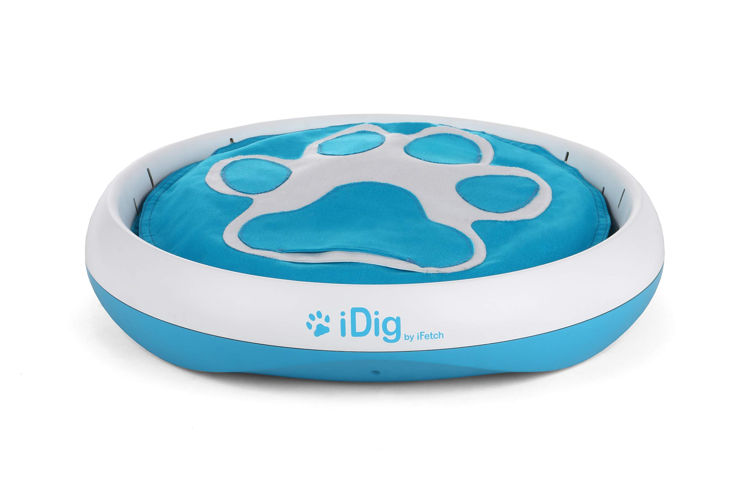 iFetch Q-100 Idig Digging Toy, One Size, Blue/White by iFetch