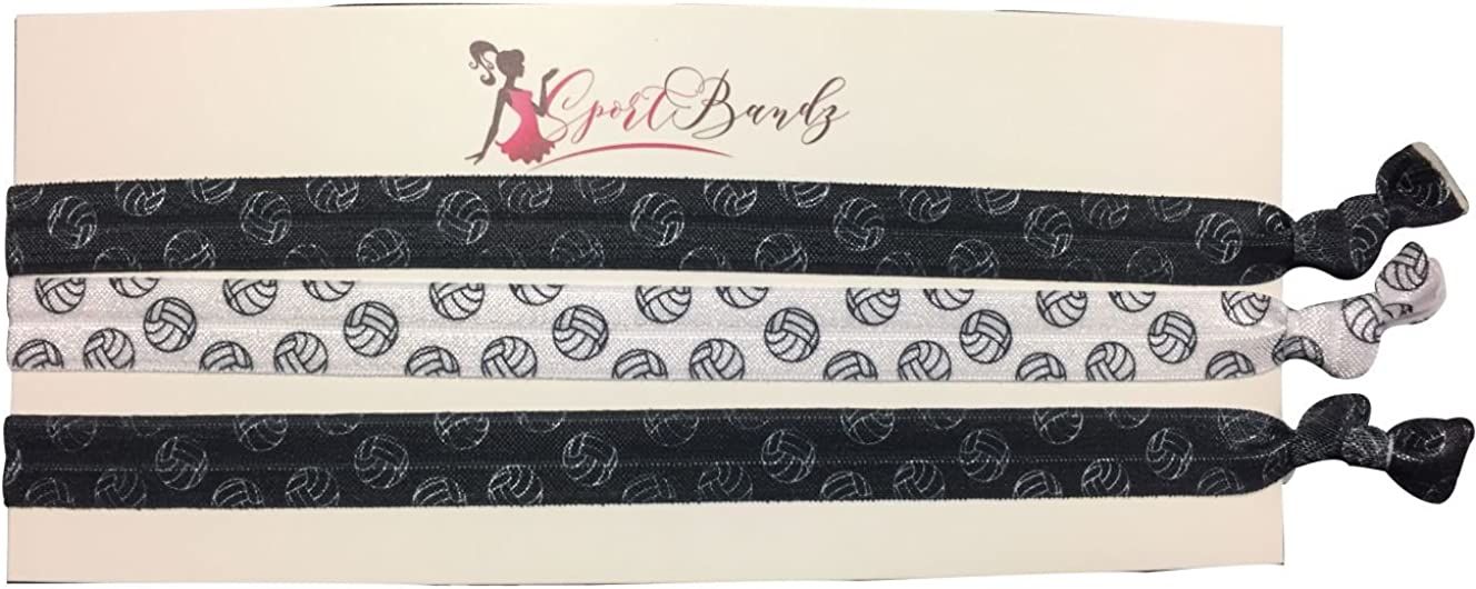 Infinity Collection Volleyball Hair Accessories, 3 Volleyball Headbands, for Volleyball Players : Clothing