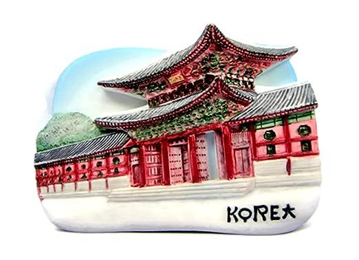 Imanes de nevera recuerdos Gyeongbokgung Palacio hecho a mano ...