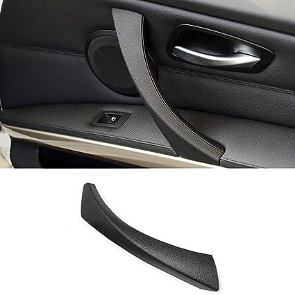 para modelos E90 Maso 51419150336 Tirador interior para puerta de coche color negro