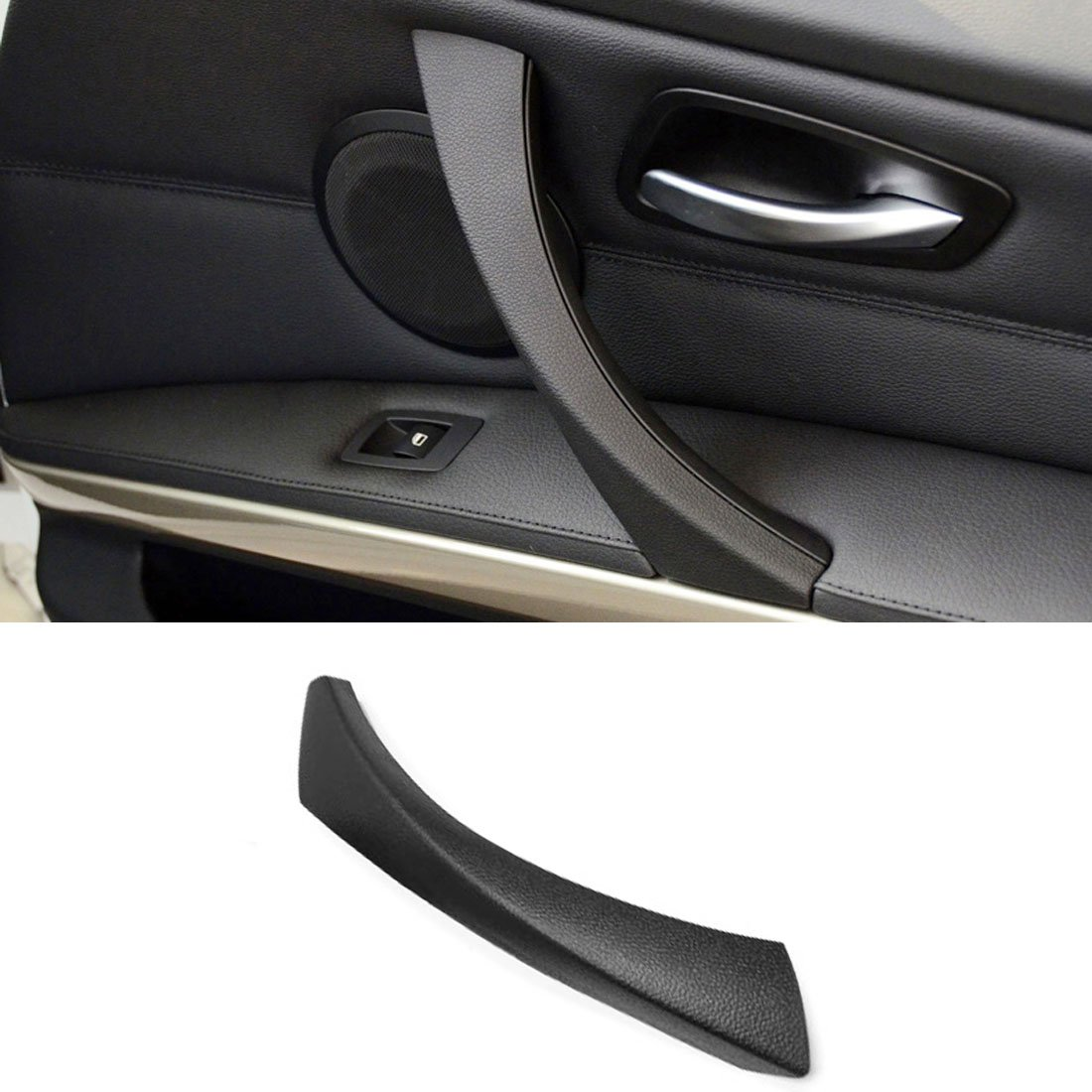 For BMW 3 Series E90/E91 Door Clasp Handle,Jaronx Right Front/Right Rear Door Handles Outer Cover Interior Door Trim Covers (Fits:BMW 323 325 328 330 335)