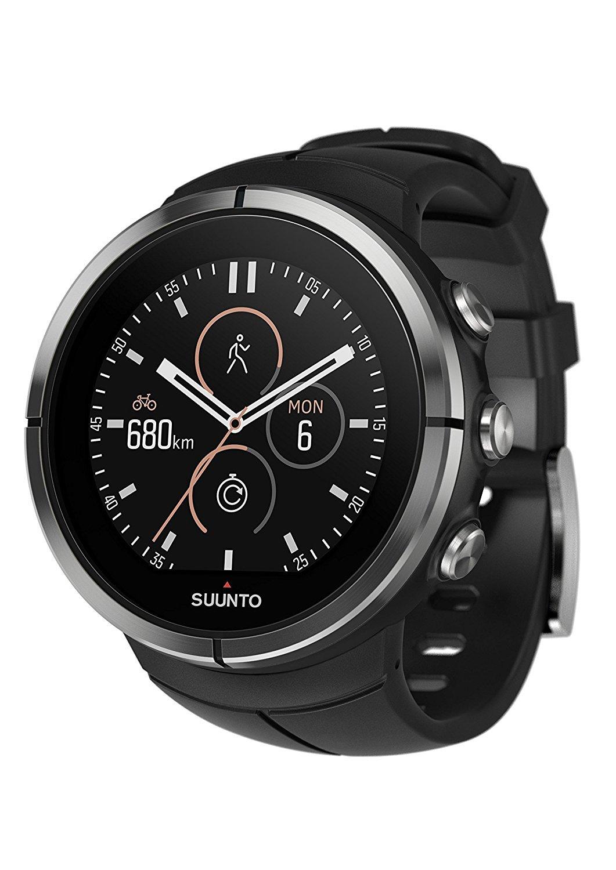 SUUNTO(スント) Spartan Ultra HR (スパルタン ウルトラ エイチアール) ハイエンドモデル ランニング GPS搭載 [並行輸入品] B06XGBR7ZS ブラック チタン|ハートレート無し ブラック チタン