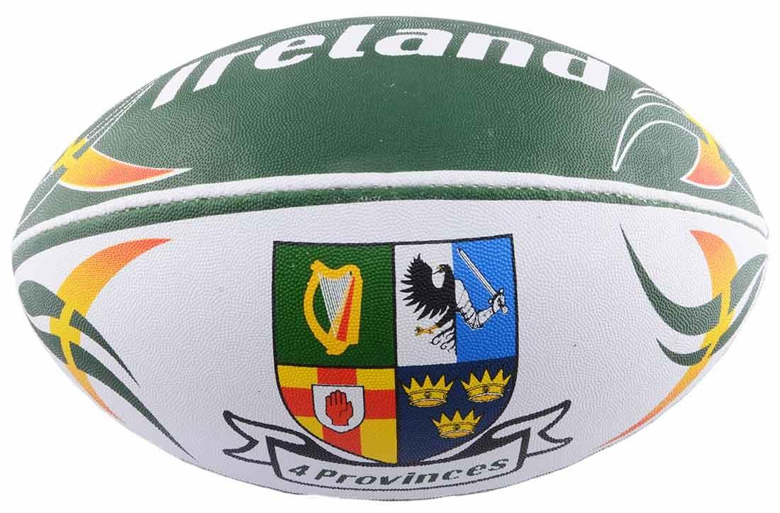 Carrolls tamaño 5 pelota de rugby con Irlanda cuatro diseño de ...