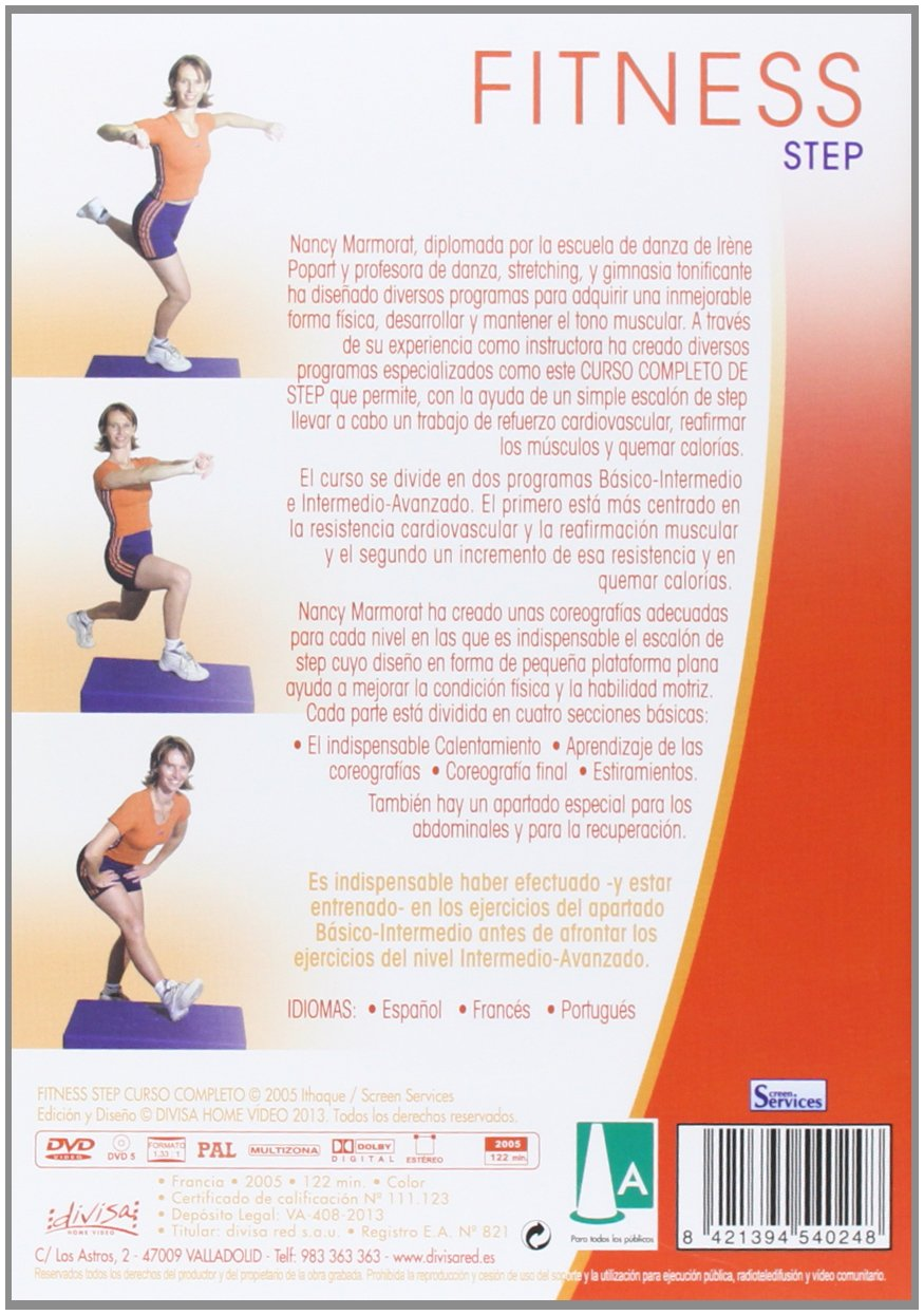 Fitness: Step, Curso Completo [DVD]: Amazon.es: Nancy ...