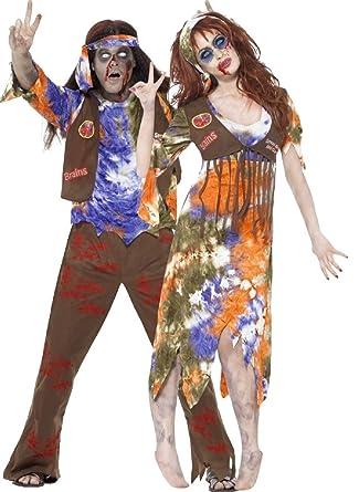 Parejas Hombre Y Mujer Zombie Hippy Hippie Años 60 1960s ...