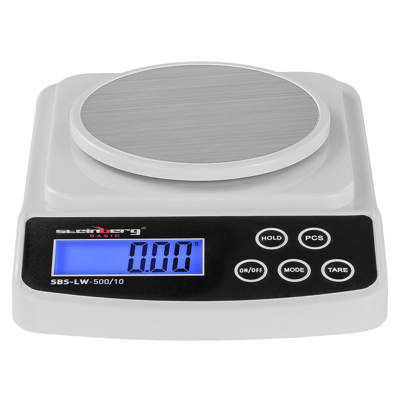 Steinberg BASIC - SBS-LW-500/10 - Balance de précision digitale - 500 g / 0,01 g