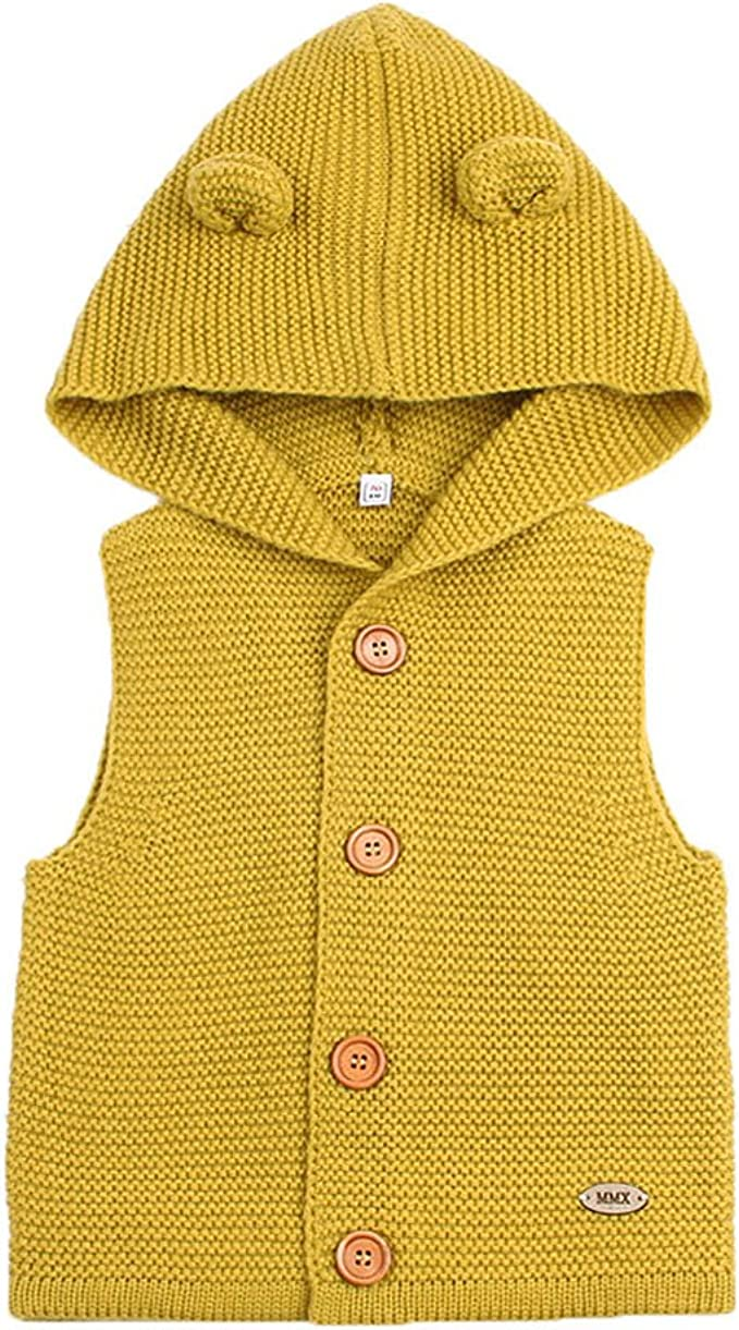 """Yellow Hooded Cardigan Sweater for 18/"""" Doll"""
